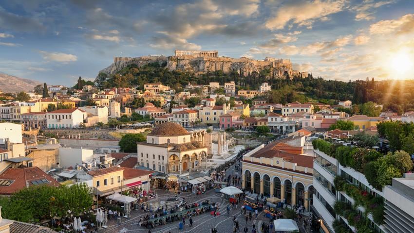 Афинские улицы