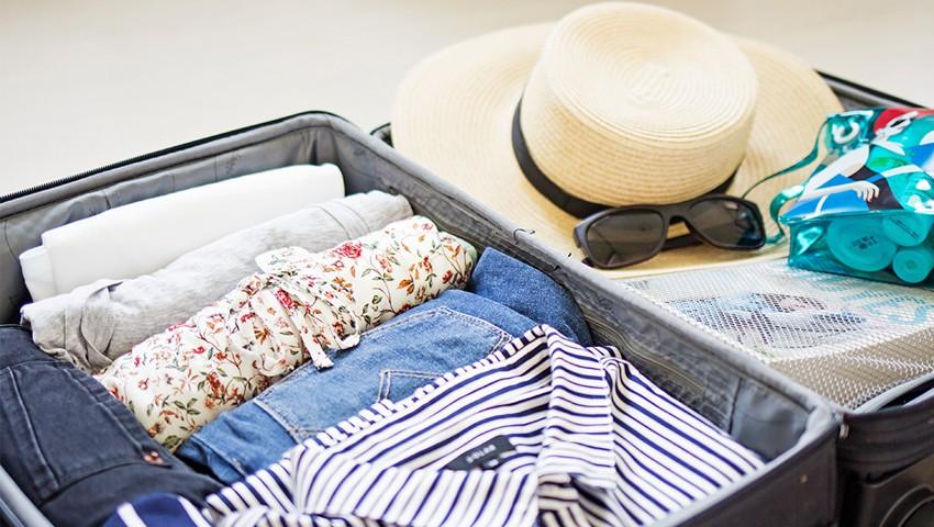Вещи в чемодане