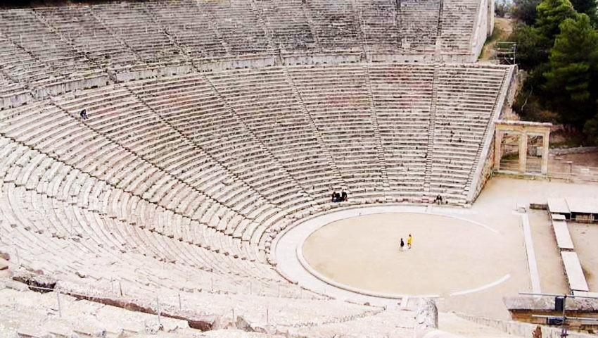 Античный театр Асклепиона